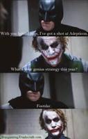 Batman vs Joker 40k Meme by NPlusPlus