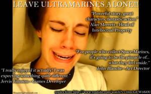 Leave Ultramarines Alone meme by NPlusPlus