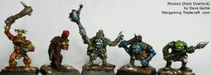 Orc Minions from Overlord by NPlusPlus