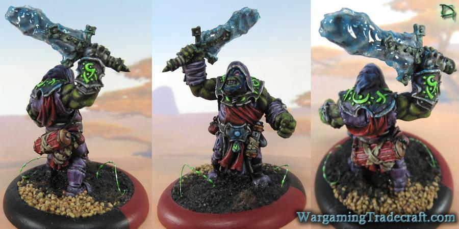 Krielstone Warlock - Voidheart by NPlusPlus