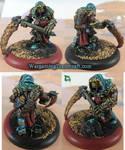 Krielstone Warlock - Plagueheart