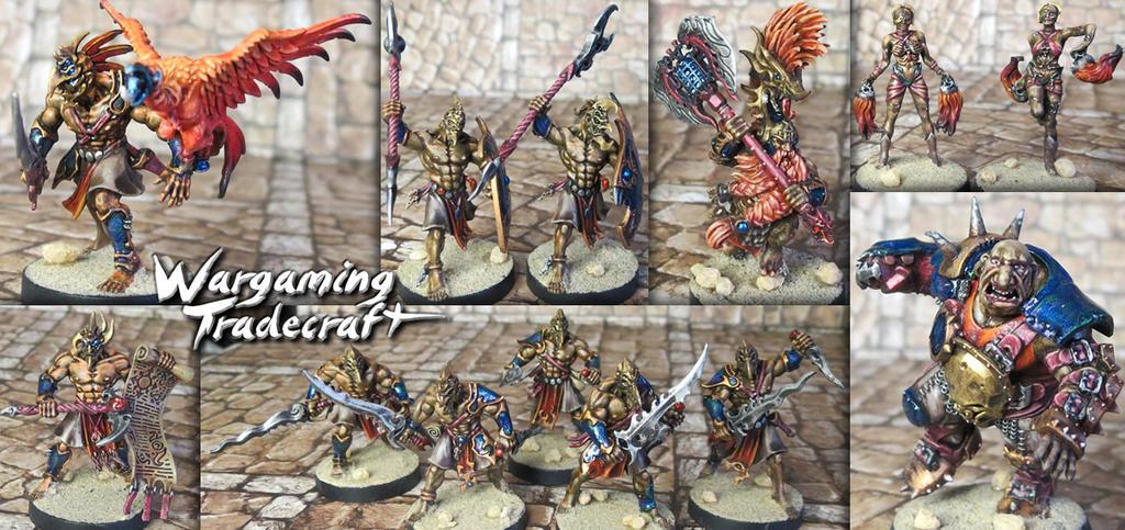 Mordheim Pit Fighters by NPlusPlus