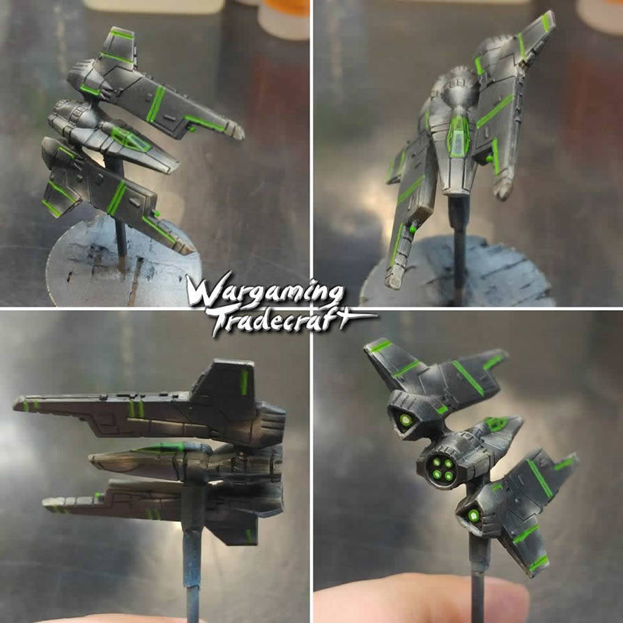 Core Couriers - Protectorate Starfighter by NPlusPlus