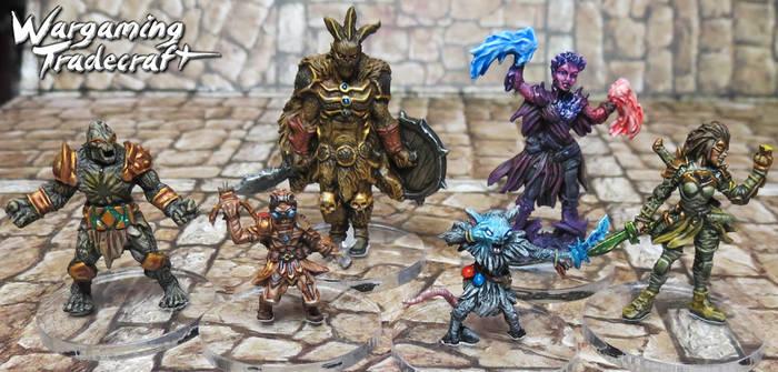Gloomhaven Miniatures