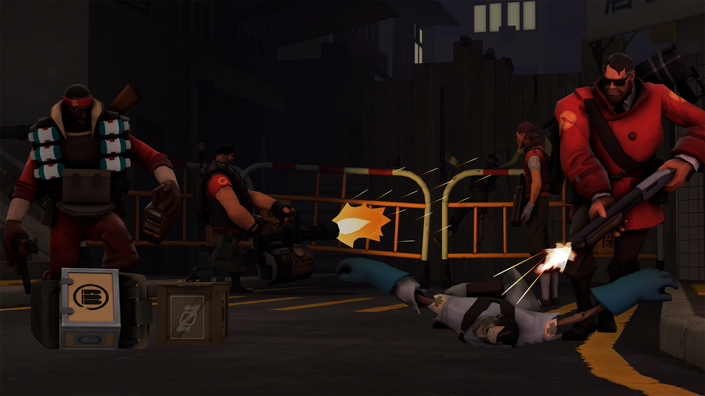 Left 4 Dead Fortress 2 Hong Kong Trouble by Zero-NexusTheCPU on