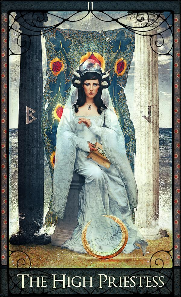 The High Priestess by acheronnights
