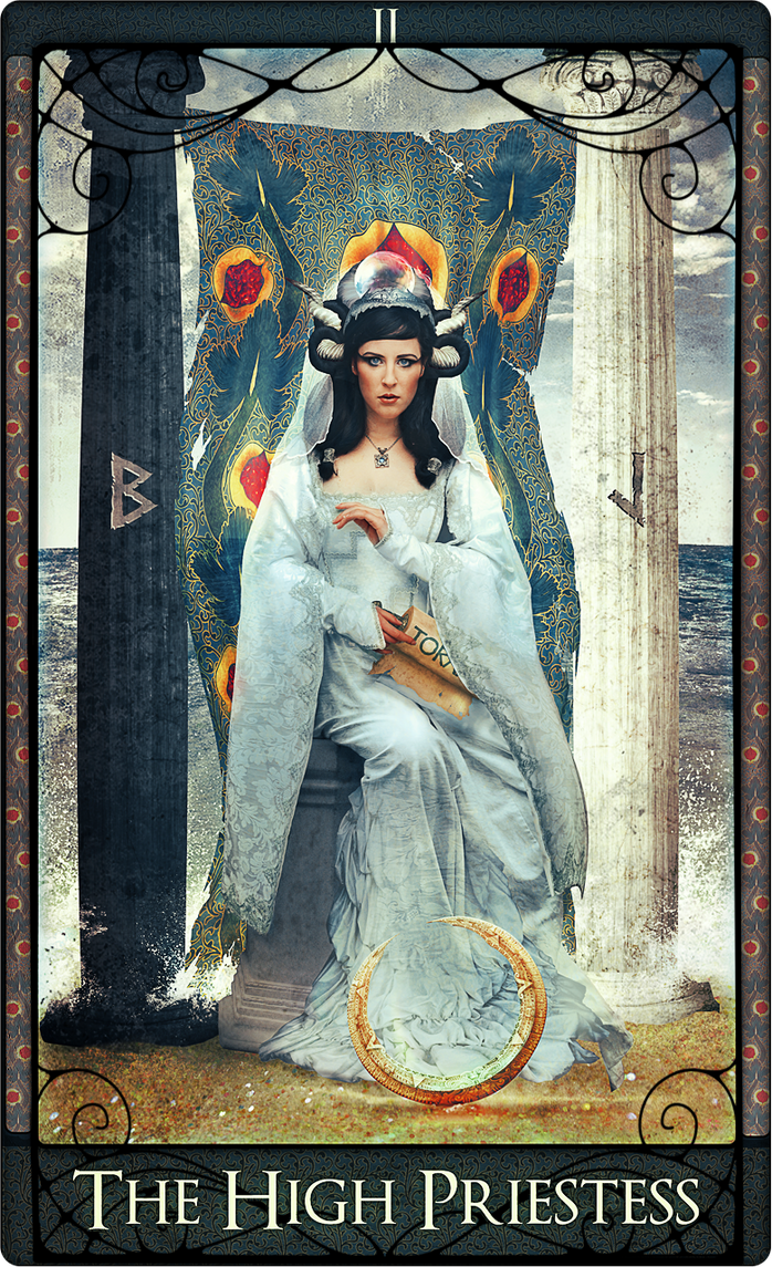 The High Priestess by acheronnights - 1785.4KB