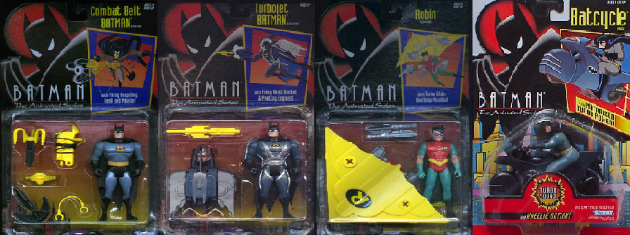 DC LEGENDS CARTOON ACTION FIGURES WAVE 1:PART 1 by MAJIN-LORD
