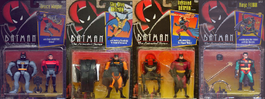 DC LEGENDS CARTOON ACTION FIGURES WAVE 1:PART 2 by MAJIN-LORD