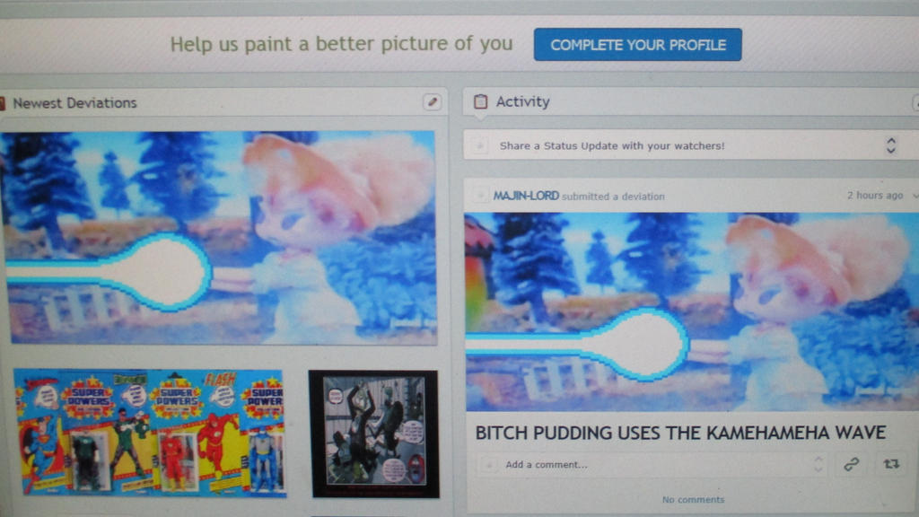 MY DEVIANT ART PAGE OCTOBER 5TH 2017 by MAJIN-LORD