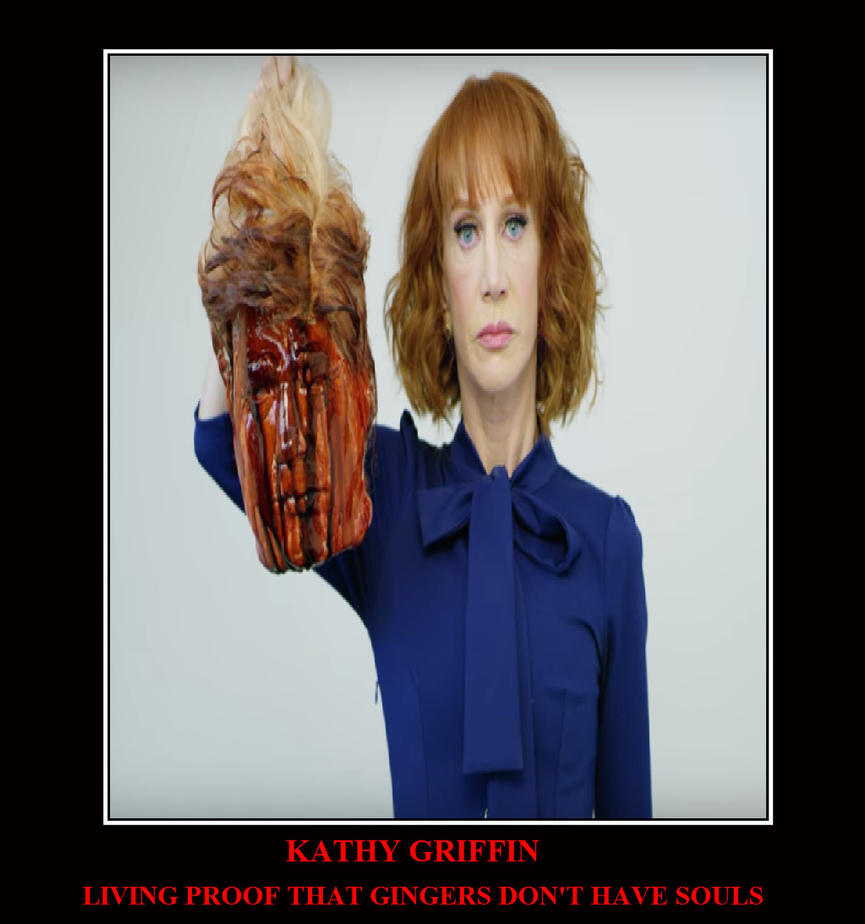 KATHY GRIFFIN by MAJIN-LORD