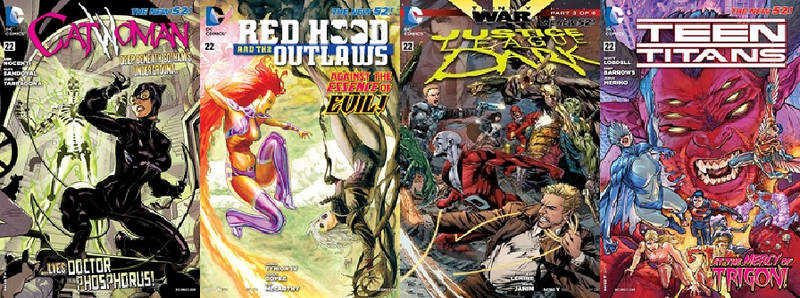 DC LEGENDS THE NEW 52-22 PART 8