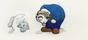 Sketchbook stuff, Peanut and a Hunchback