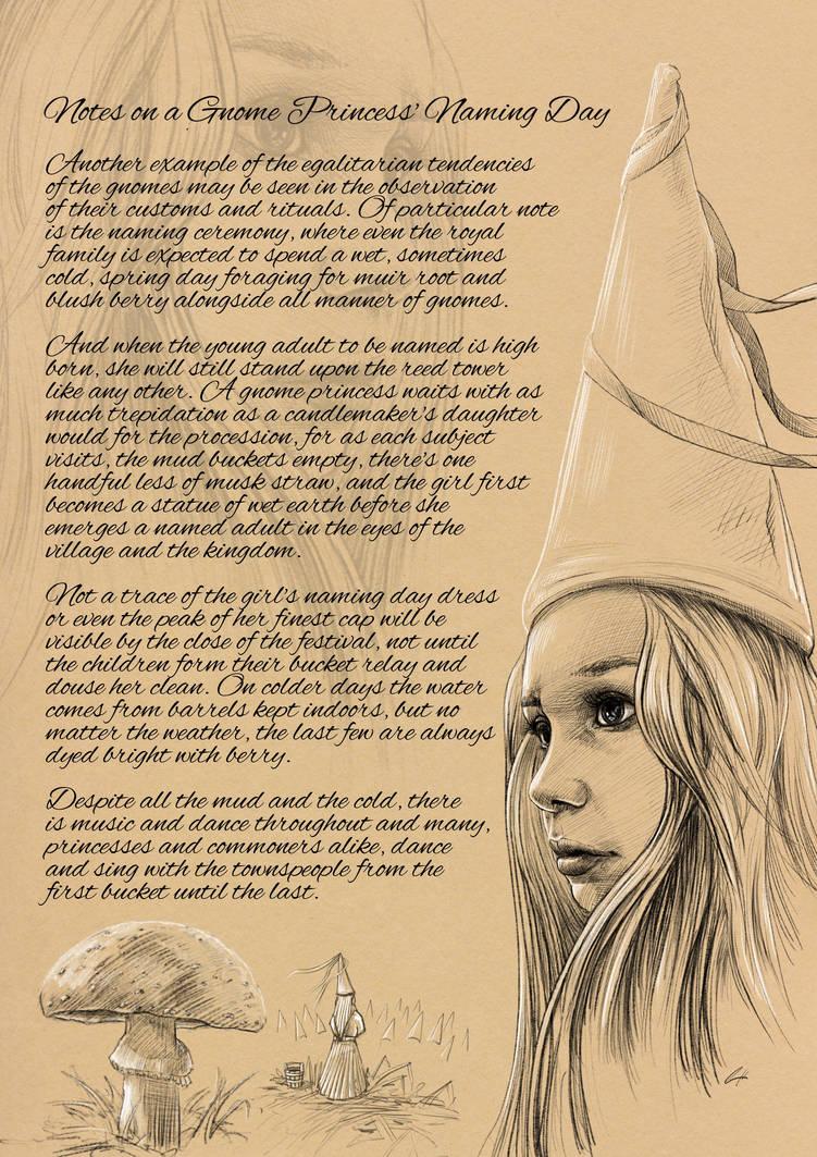The Gnome Princess' Naming Day