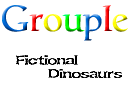 Fictional Dinosaurs Grouple by tobysq