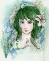 Green euphoria by WhiteBumblebee