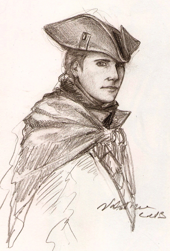 Request3: Haytham Kenway by WhiteBumblebee