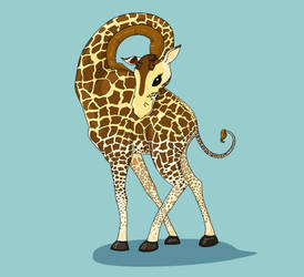 Giraffe by angrystar