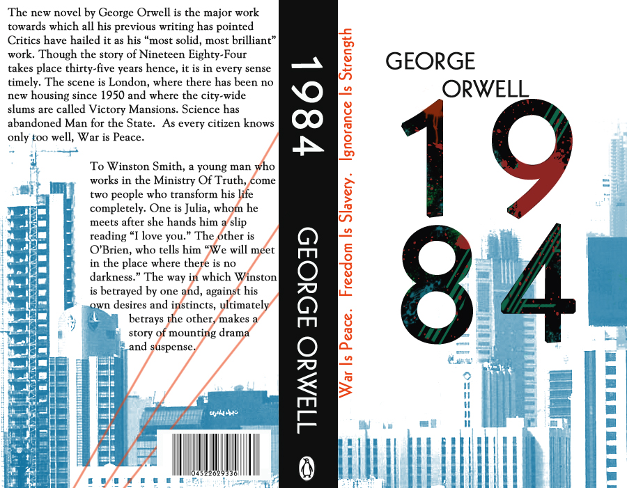 a literary analysis of the story 1984 by george orwell Orwell's dissatisfaction with the independent labour party is apparent in 1984 big brother is the embodiment of the party government he is seen by party members to be a protective, father-like figure who wages war on their behalf in order to protect them.
