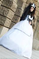 Elegance in White and Black by Flokati-san