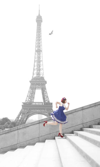 Vite, la tour Eiffel! by Flokati-san