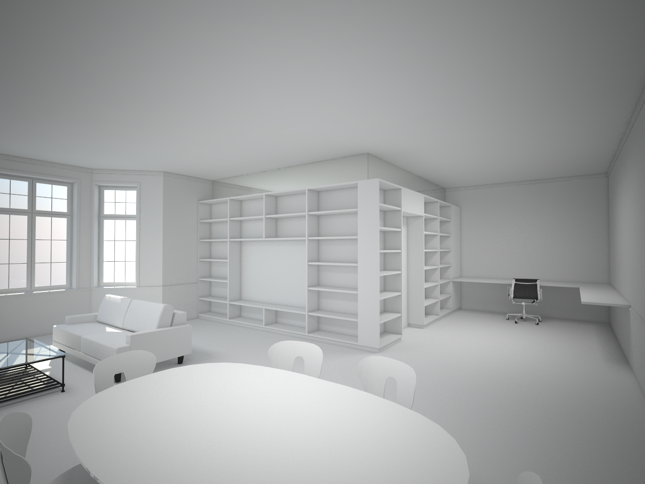 Apartment - Claymodel by sirethomas