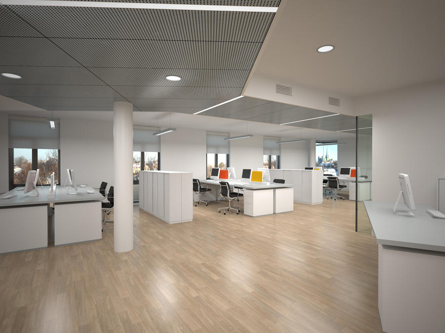 Office - 'Building B' by sirethomas