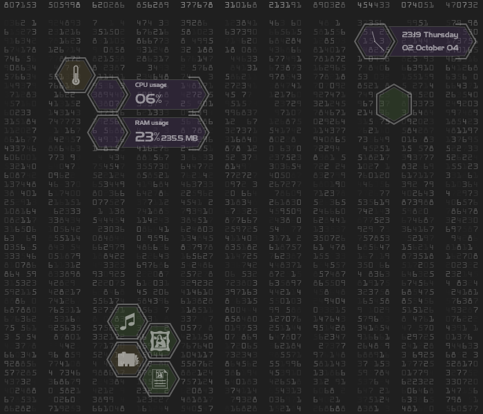 techGUI - DesktopX Desktop Concept by sirethomas