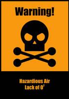 Alert Label - O2 by sirethomas