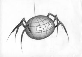 Cyber Kinetic Killer Spider by sirethomas