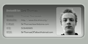 deviantID nr 3 for Sire Thomas by sirethomas