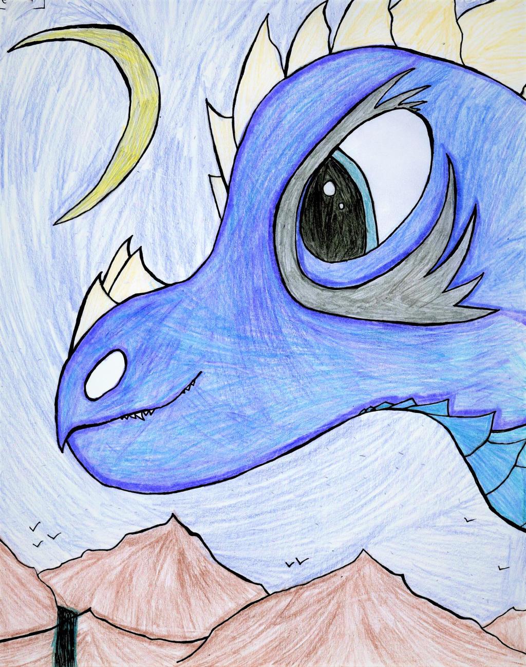 Gecret The Dragon by GwillaTheDragon