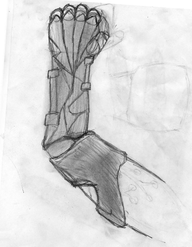 Robotic Arm by GwillaTheDragon