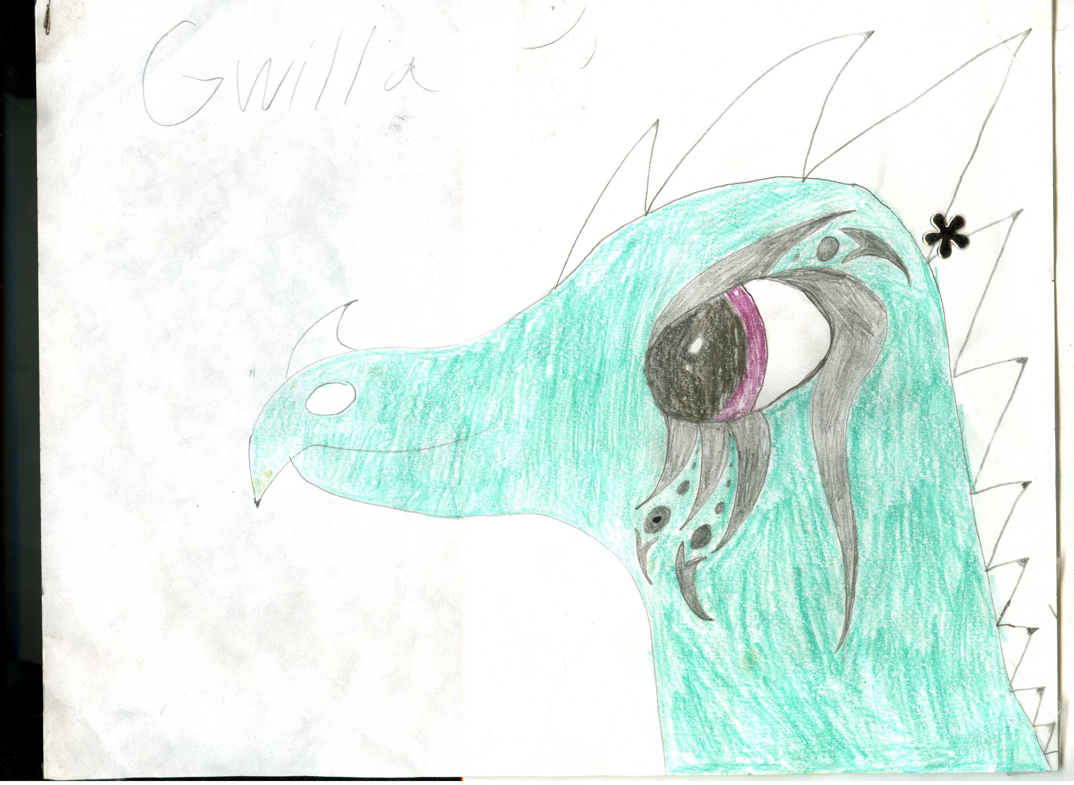 Gwilla The First by GwillaTheDragon
