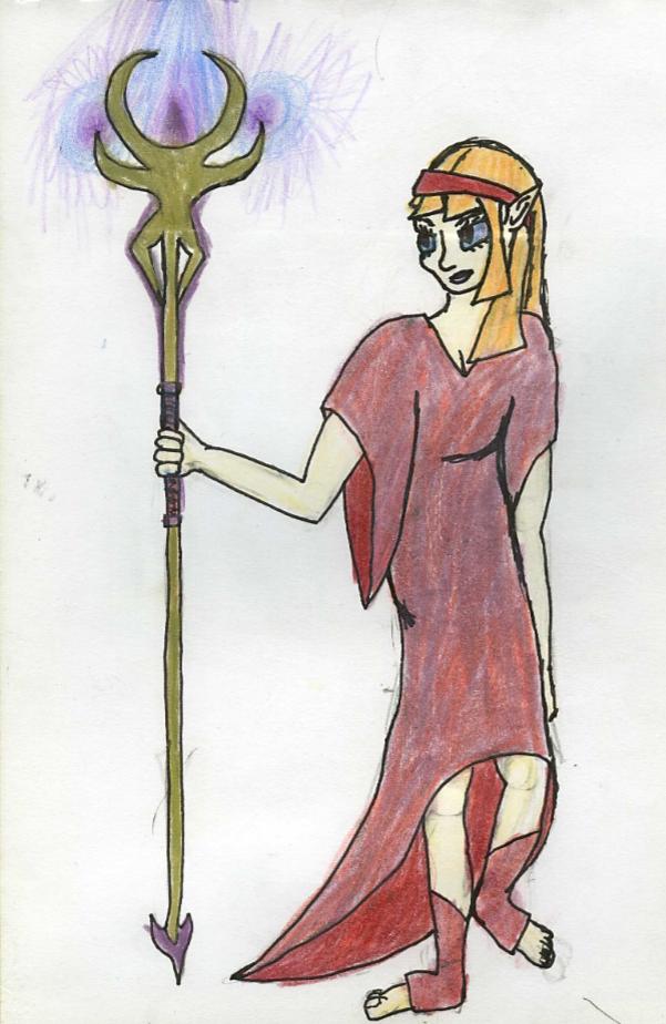 Sorceress by GwillaTheDragon