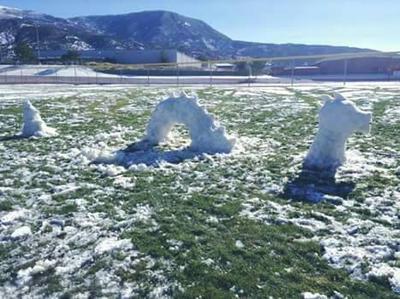 Snowy Leviathan by GwillaTheDragon