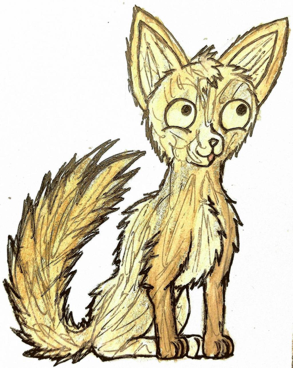 Fuzz Dog by GwillaTheDragon