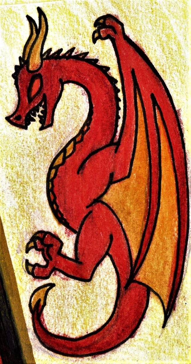 Fiery One by GwillaTheDragon