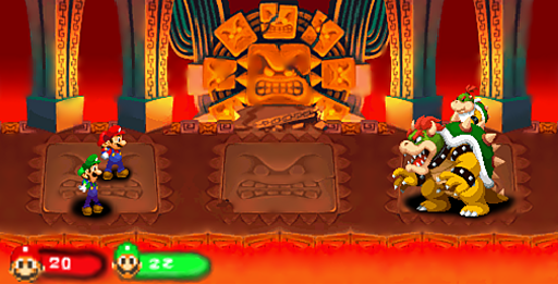 Mario And Luigi Partners In Time Bowser Battle Hd By