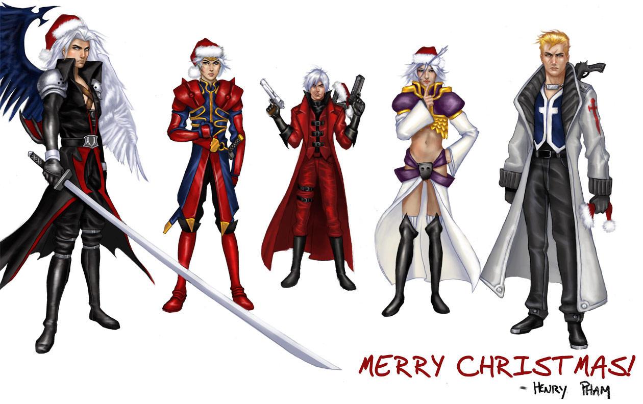 Merry Xmas Everyone by phamtastic