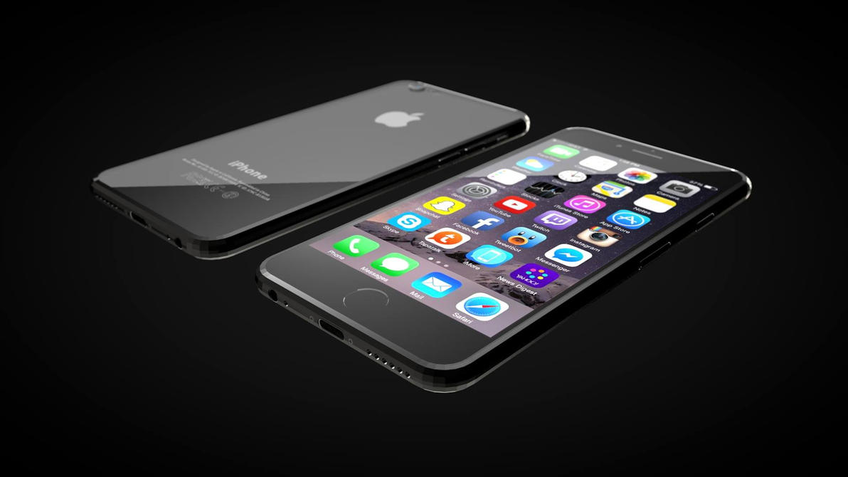 iPhone 6 in Cinema 4D by Amartia