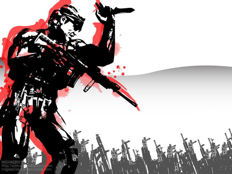 Metal Gear Solid 2 Wallpaper: Metal Gear Solid Wallpaper 2 By Cmico2 On DeviantArt