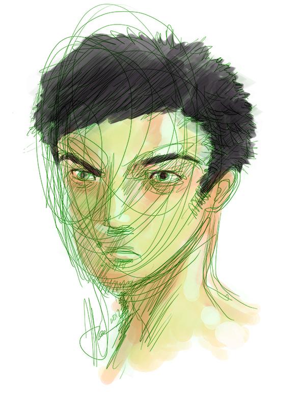 self portrait by cmico2