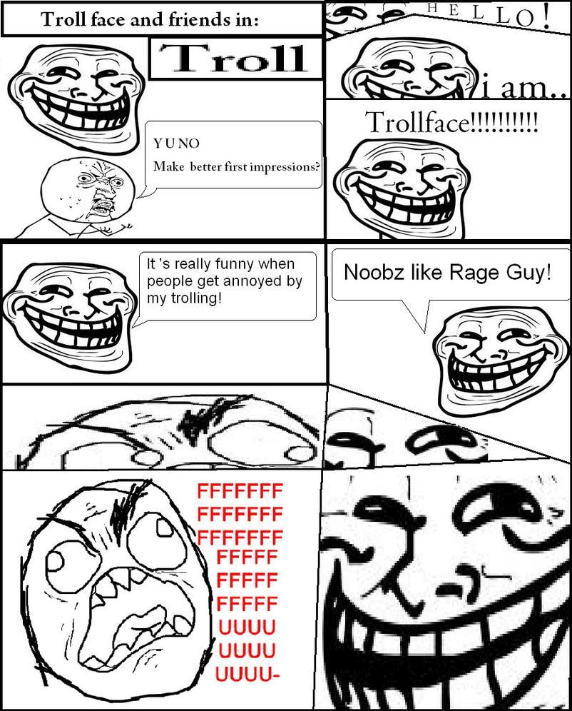 Internet dating troll