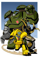 Transformers animated by Boky44
