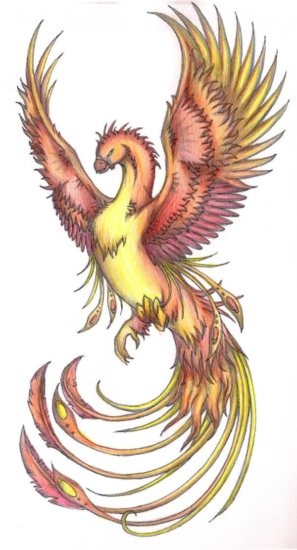 Phoenix 2 coloured by terminatress