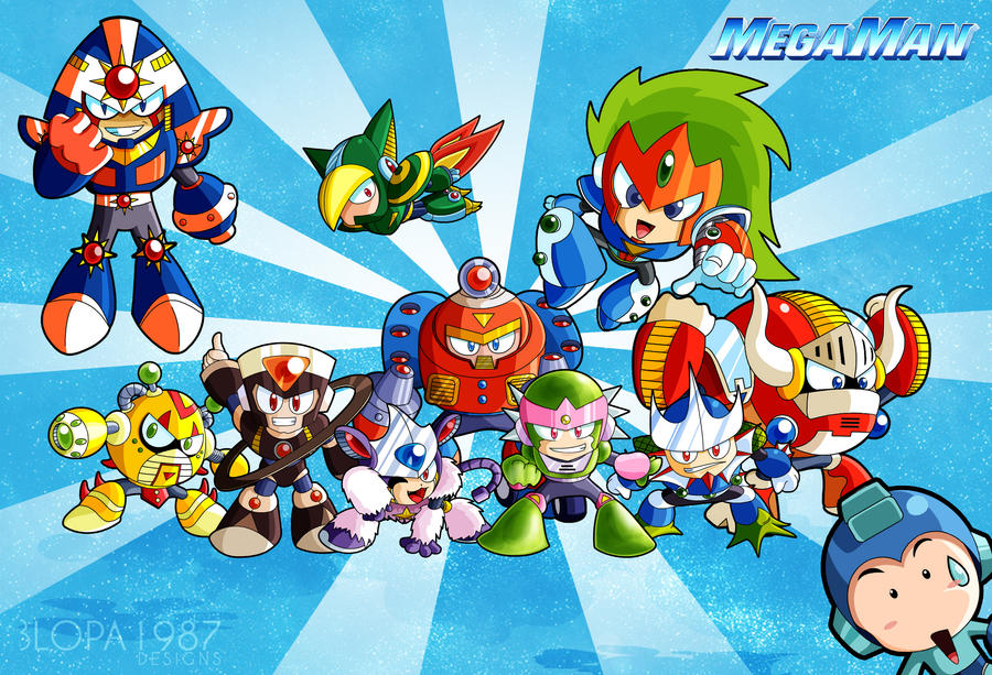 Megaman V by Blopa1987