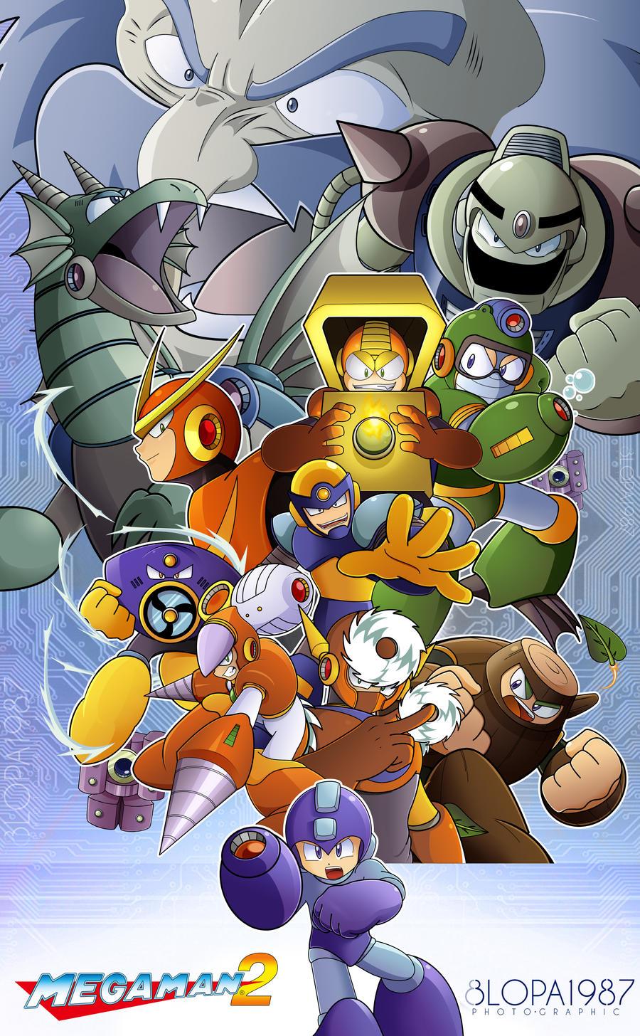 Megaman 2 by Blopa1987