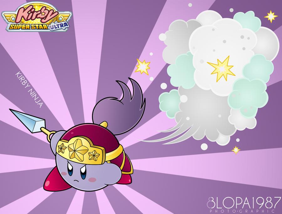 Kirby Ninja by Blopa1987