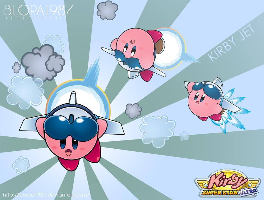 kirby Jet by Blopa1987